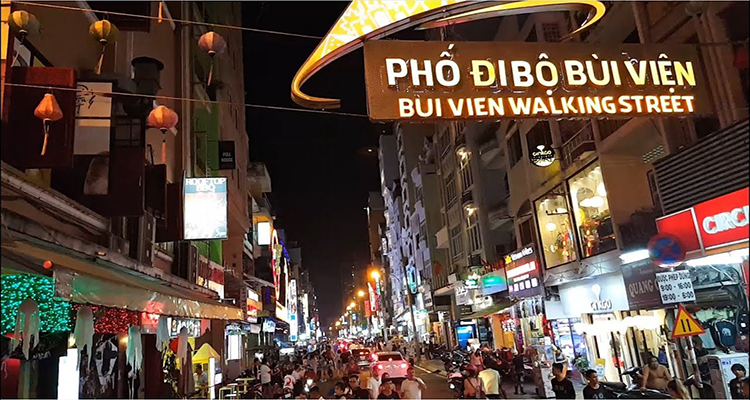 Bui Vien Walking Street