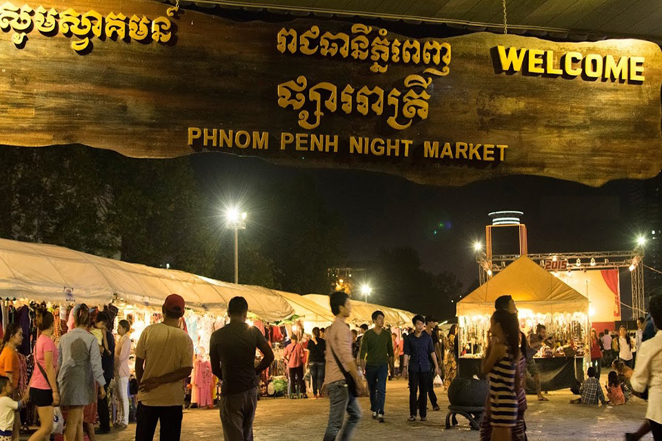 Phnom Penh Night Market